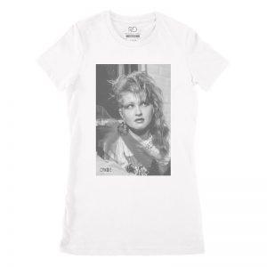 Cyndi Lauper White T Shirt