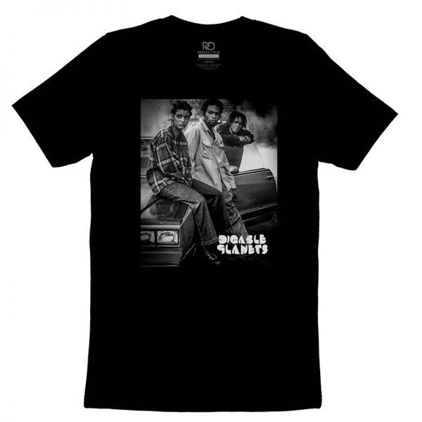 Digable Planets Black T shirt