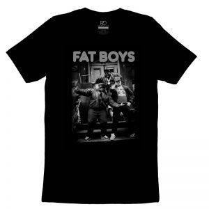 Fat Boys Black T shirt2