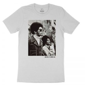 Jim Kelly Bruce Lee White T shirt