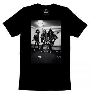 Kiss Black T Shirt