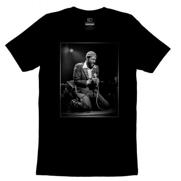 Marvin Gaye Black T Shirt v2