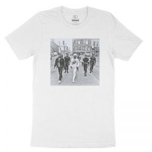 Public Enemy White T shirt2