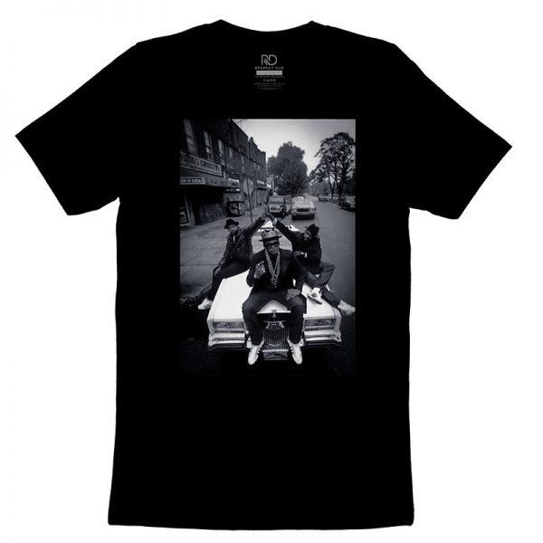 Run DMC Black T shirt2