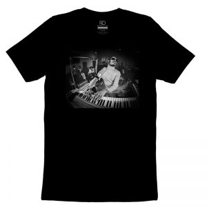Stevie Wonder Black T shirt