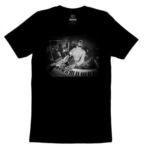 Stevie Wonder Black T shirt