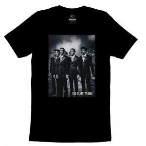 The Temptations Black T shirt3