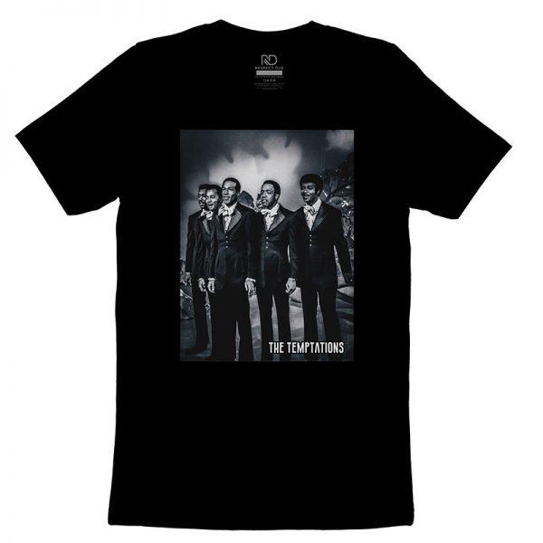 The Temptations Black T shirt3