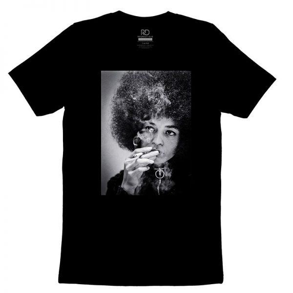 Angela Davis Strategic Black T shirt
