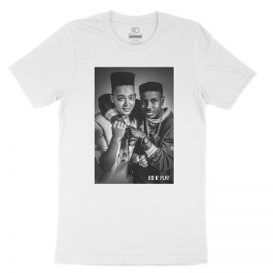 Kid N Play White T shirt