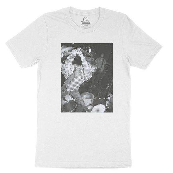 Kurt Kobain White T shirt