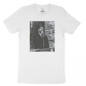 Malcolm X Preach White T shirt