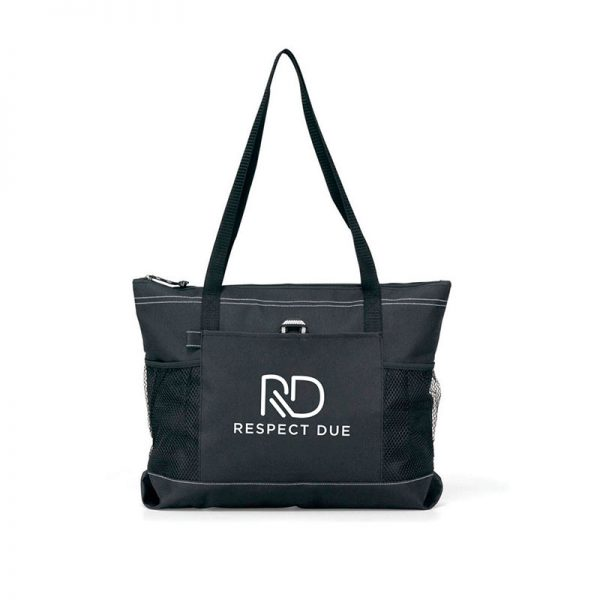 RD Select Zippered Tote Black