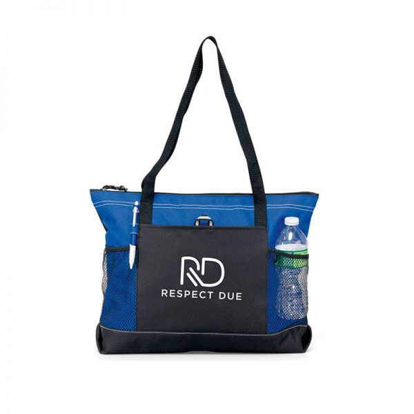 RD Select Zippered Tote Blue