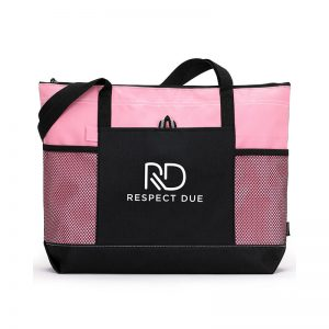 RD Select Zippered Tote Pink