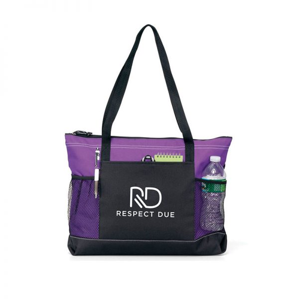 RD Select Zippered Tote Purple