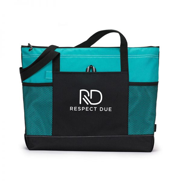 RD Select Zippered Tote Turquoise