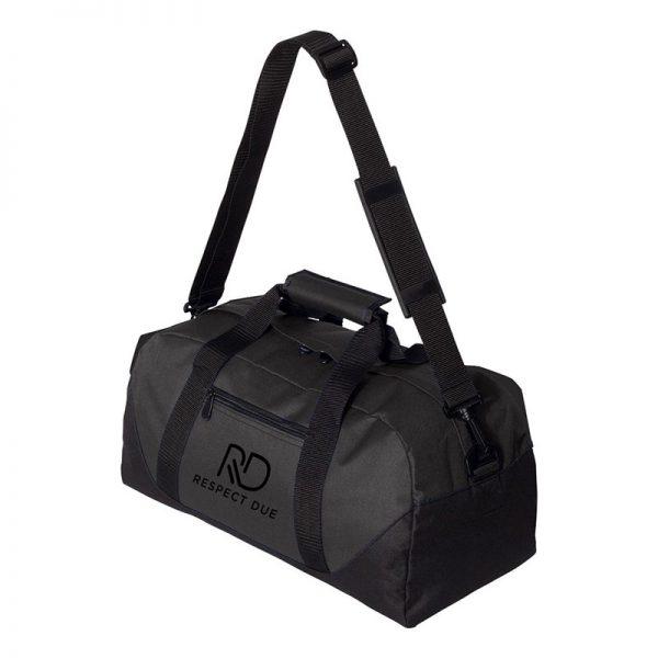 RD Sports Duffel Bag 18inches Black Logo