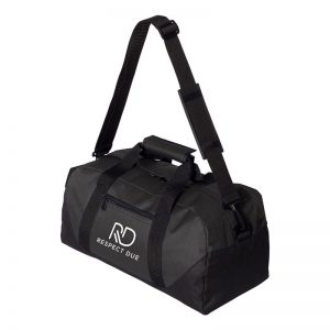 RD Sports Duffel Bag 18inches White Logo