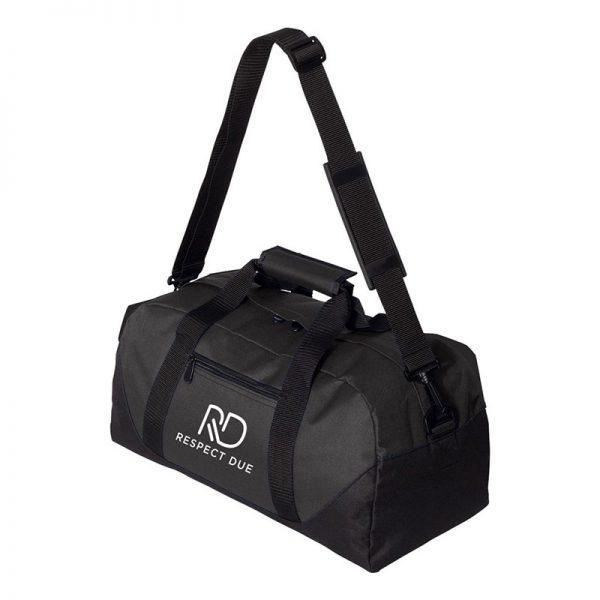 RD Sports Duffel Bag 18inches White Logo
