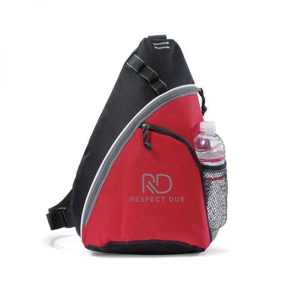 RD Wave Sling Bag Red