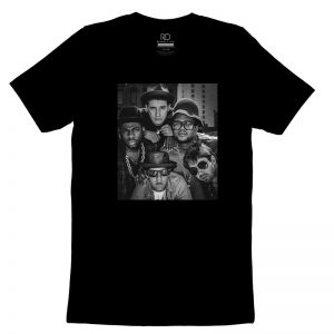 RUN DMC and Beastie Boys Black T shirt