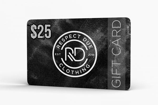 Respect Due Gift Card Seal Logo 2