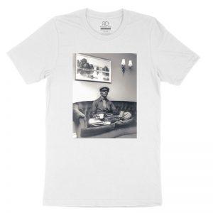 Stevie Wonder Mood White T shirt