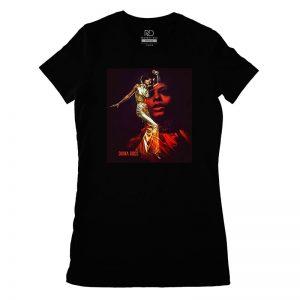 Diana Ross Black T shirt Womans
