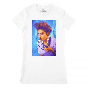 Madonna Lightroom White T shirt Womans