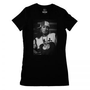 Missy Elliot Black T shirt Womens