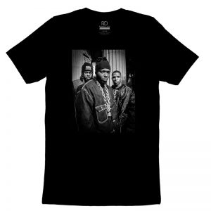 Naughty By Nature Black T shirt