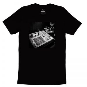 Respect Due MPC 3000 Black T shirt