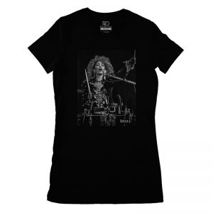 Sheila E Black T shirt Womans