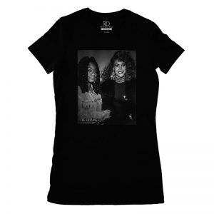 The Roxannes Together Black T shirt Womans