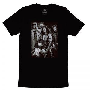 Aerosmith Black T shirt