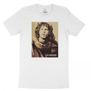 Jim Morrison White T shirt