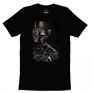 Michael Jordan Black T shirt