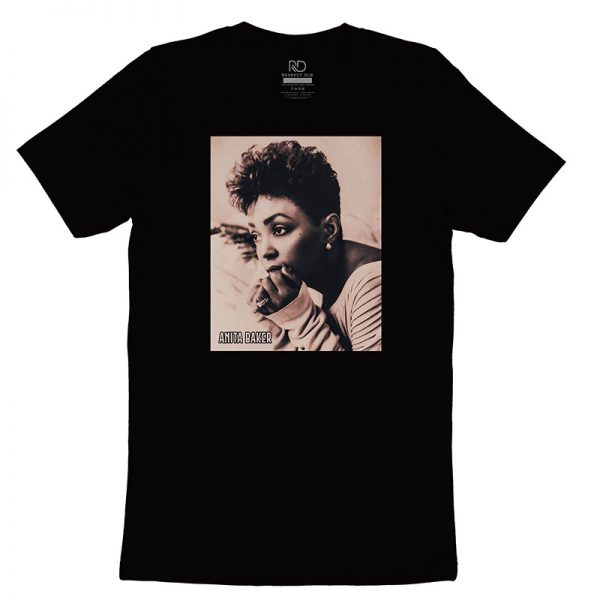 Anita Baker Black T shirt