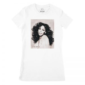 Curtis Mayfield White T shirt Womens
