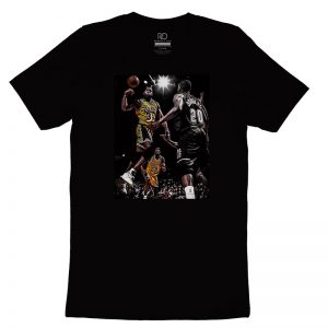 Magic Johnson Black T shirt