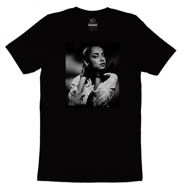 Sade Black T shirt