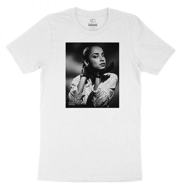 Sade White T shirt