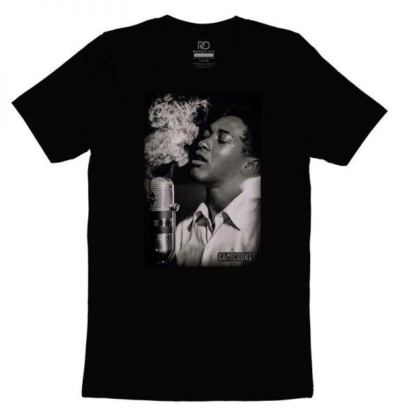 Sam Cooke Black T shirt2