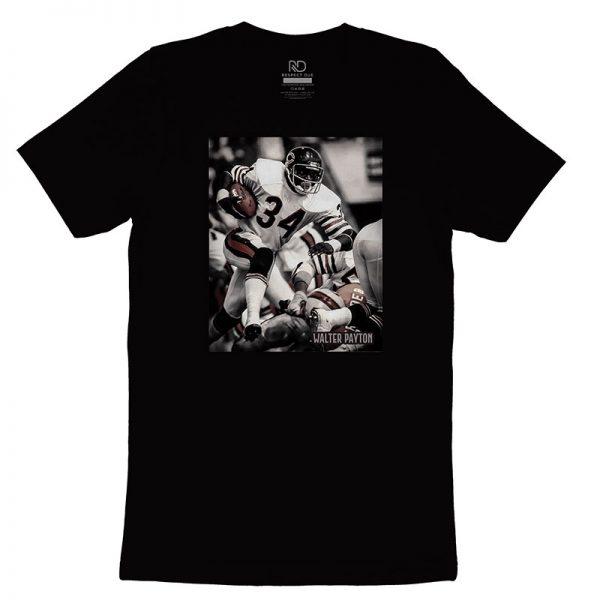 Walter Payton Black T shirt