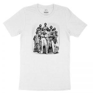 Earth Wind and Fire White T shirt