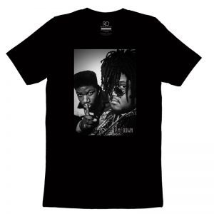 P M Dawn Black T shirt