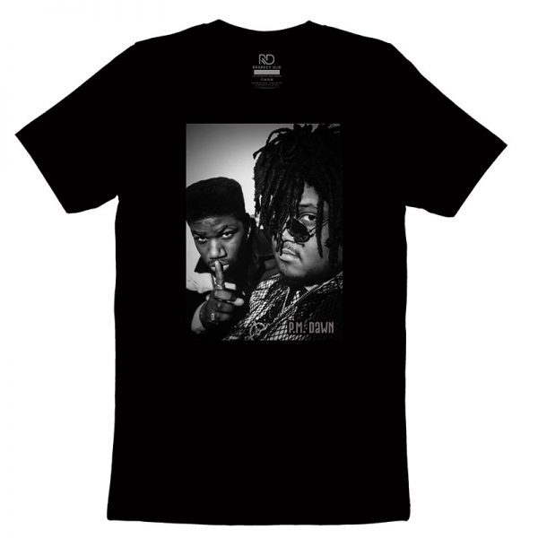 P M Dawn Black T shirt