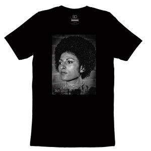 Pam Grier Black T shirt