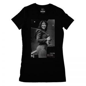 Selena Black T shirt Womans